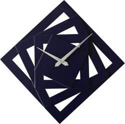 Wall Clock Screw Design - Purple