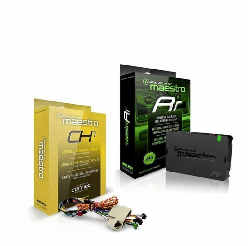 iDatalink Maestro ADS-MRR +ADS-HRN-RR-CH1 Adapter for Chrysler Harness Dodge