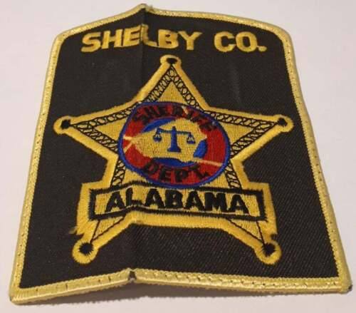 Shelby County Alabama AL US Police Patch Vintage