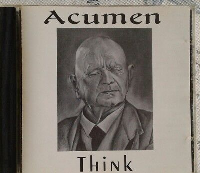 Acumen Rare Think Cd 1992 10 Tracks Standing Stones Carnival Girl In A Blur
