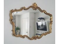 ٍElegant French wall mirror 107cm x 80 x 5cm approx. size