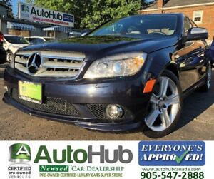 2008 Mercedes-Benz C-Class C300-4MATIC-LEATHER-SUNROOF