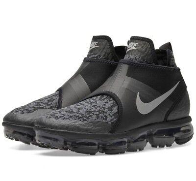 a671df73223 Nike Air Vapormax Chukka Slip Black Size 8 UK Genuine Authentic Mens  Trainers
