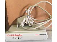 Fax Modem 56K 3 Com U.S. Robotics