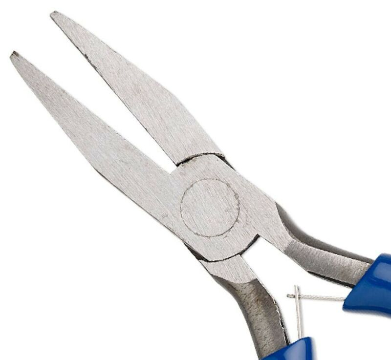 1 Pair Flat Nose Pliers Wire Wrapping & Flattening Jewelers Tool