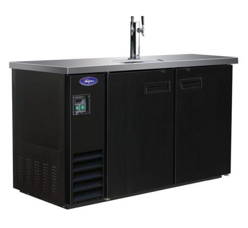 "Valpro VPBD3-1 60"" 1-Tower 2-Taps Commercial Bar Beer Dispen"