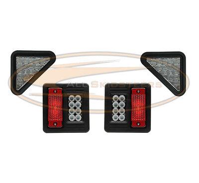 Led Bobcat Exterior Light Kit Head Light Tail Light Plug N Play For Skid Steer