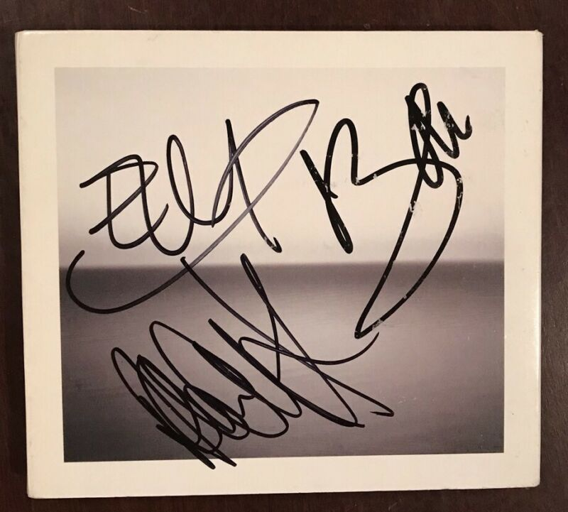 U2 - Edge + Bono + Adam Signed / Autographed