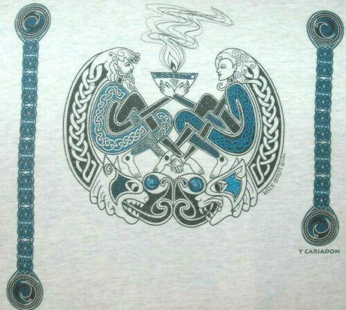 Vtg KELTIC DESIGNS T SHIRT Rare 90
