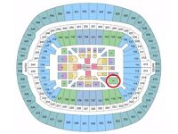JOSHUA/KLITSCHKO FIGHT - 2 FLOOR TICKETS (BLOCK HH)
