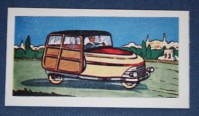 DAVID     Spanish 3-Wheeler Mini-Car    Vintage 1950's  Card