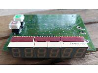 w//Bezel and Hardware Sifam England UK AL29 VU Meter TESTED Audioarts Wheatston