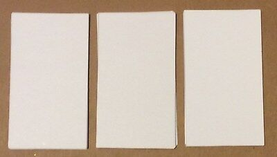 1000 Blank Business Cards White Color 3.5 x 2, Multi, flash