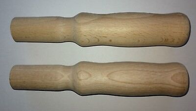 Schubkarrengriffe für Rohrholm rund 2 Stück (1 Paar) 195 mm lang Karrengriffe
