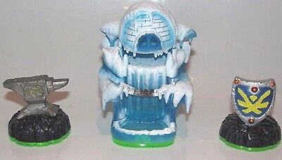 Empire Of Ice Skylanders Spyros Adventure Pack Level Wii U Ps3 Ps4 360 Xbox