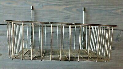 Chrome Grid Panel Wire Basket To Hang On Grid Wall 4tall 12wide 12deep