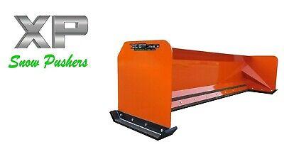 8 Xp30 Kubota Orange Skid Steer Snow Pusher Bobcat Case - Local Pick Up