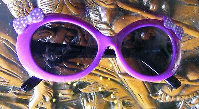 Sonnenbrille für kleine Mädchen - Lila mit Schleife und Sternen von dm
