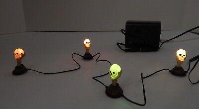 Halloween Luminaries (Dept 56 Halloween Boneyard Luminaries #4038898 New)