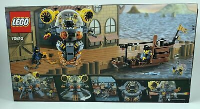 LEGO 70610 The Ninjago Movie Flying Jelly Sub 341 pcs New & Sealed Free Shipping