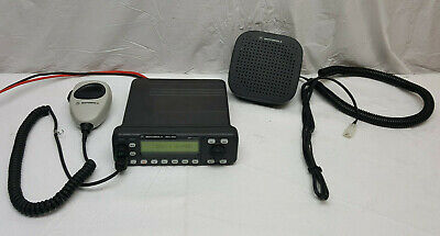 CM300 Motorola Base Tray with Speaker RLN5390A CM200 /& PM400 TESTED WORKING