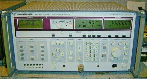 Rohde & Schwarz EMI Test Receiver ESHS10 9kHz-30MHz