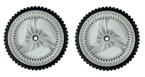"""New 2(Two) 8"""" Front Drive Wheels Fits Craftsman Replaces 401274x460, 583719501"""