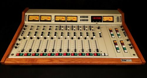 Fidelipac Dynamax Broadcast Audio BAC1206 Analog Mixer Console