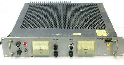 Harrison Laboratories 6266a Adjustable Dc Power Supply 0-36 Volts 5 Amps