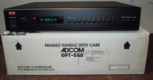 Adcom GFT-555 Tuner. Clean! (includes factory carton)