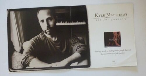 Kyle Matthews See For Yourself LP Record Photo Flat 12x24 Poster