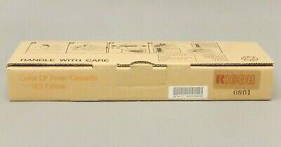 Ricoh 402555 Yellow Toner Cassette Type 165 Aficio CL3500 Genuine New Seal Box -