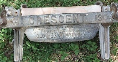 Antique CRESCENT, Laundry Wash Wringer, #130 THE AMERICAN WRINGER CO