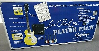 Epiphone Les Paul SL Sunset Yellow ENOPSYCH3 Guitar