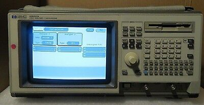 Hp Agilent 1660cs Logic Analyzer Oscilloscope With Setup Files Floppy Disk