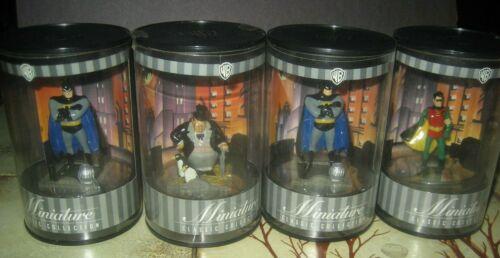Warner Bros Batman Robin  Penguin Miniature Classic Animated Series Collection