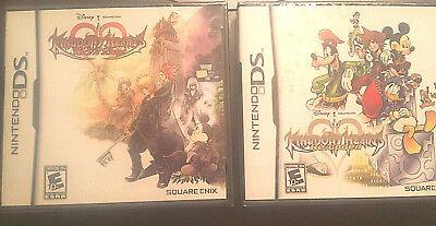 2 Games! KINGDOM HEARTS 358/2 DAYS & Kingdom Hearts RECODED NINTENDO DS