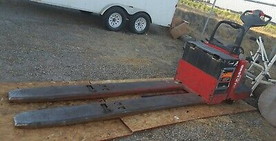 Raymond Electric Pallet Jack 8 Ft And 12 Foot Forks 6k And 8k Pound Lift