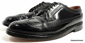 Fresh-Longwings-Florsheim-Imperial-Shell-Cordovan-11-D-US-Wingtip-Dress-Shoes
