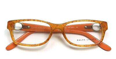 Ralph Lauren RL 6106Q 5354 Eyeglasses Glasses Blonde Tortoise / Orange 53-17-140