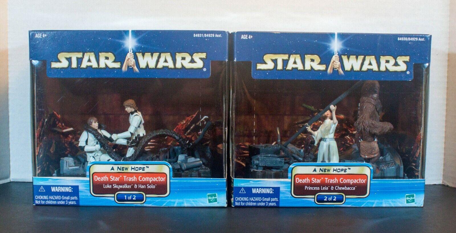 STAR WARS Saga Death Star Trash Compactor Set 1 - NEW 2002