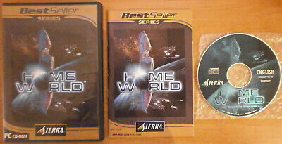 HOME WORLD - PC CD-ROM *BEST OFFER* *TRACKED* *VERY