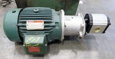 Reliance Electric 5 Hp P18G1124F Casappa PlP30.51DO Hydraulic Pump