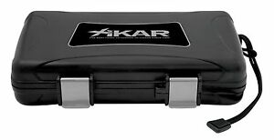 XIKAR 5 Cigar Travel Humidor Case - New Model - 205XI