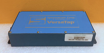 Spectracom Corp. 8140vt-75-00 Ds3 In To 4 Khz Ttl Out 10 Mhz Impedance Versatap