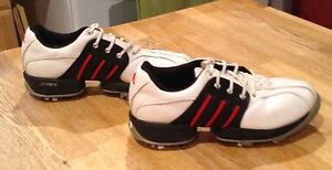 Size 4 1/2 adidas golf shoes for boys