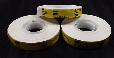 3M 928 ATG Repositionable Adhesive Transfer Tape  3 ROLLS    1/2