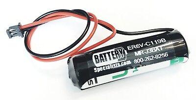 Mitsubishi Er6vc119b Programmable Logic Controller Battery Mr-j3-bat Us Seller