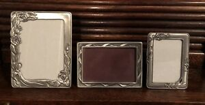 Seagull Pewter Picture Frames - from $20 to $30