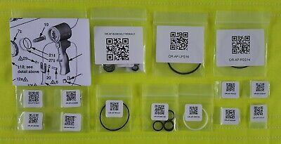 Aflas O-ring Kit For Fusion Ap Spray Foam Gun